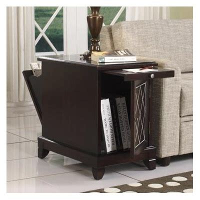 recliner side table with storage storage end table furniture