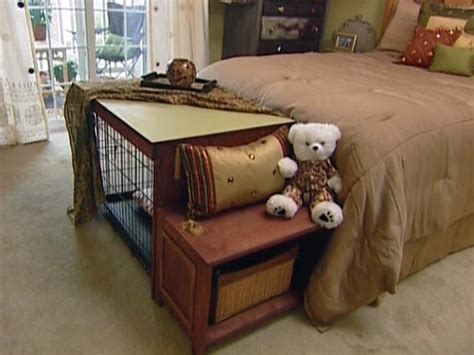 how to make a bench seat cover how to build a dog crate cover bench seat hgtv