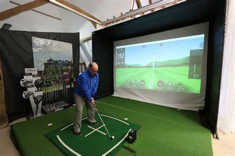 Golf Swing Simulator home golf simulator enclosure golf swing systems