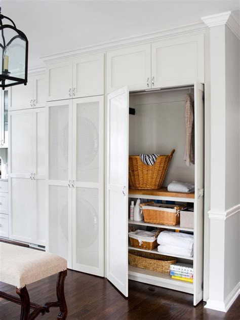 design a laundry closet 8 tidy laundry rooms that make washday fun hgtv