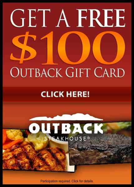 outback printable gift cards october 2012 free sles by mail no surveys no catch