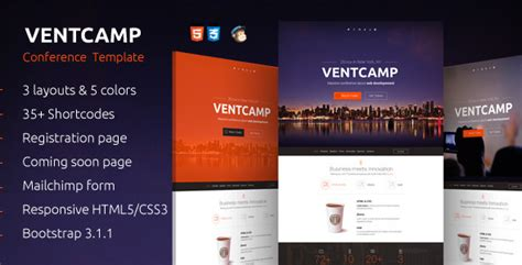 Event Landing Page Templates Best Of Best Handpicked Event Landing Page Template Free