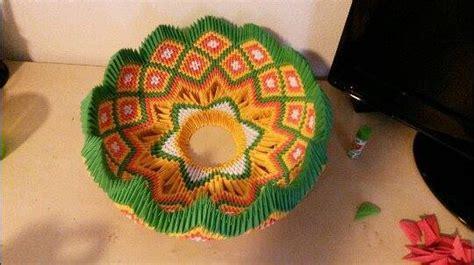 3d origami bowl tutorial 3d origami fruit bowl by amniri on deviantart