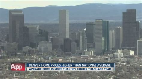 denver home prices higher than national average