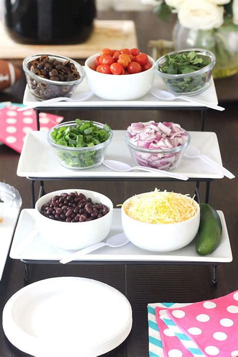 french fry bar toppings nacho bar french fries with philips airfryer lifestyle blog
