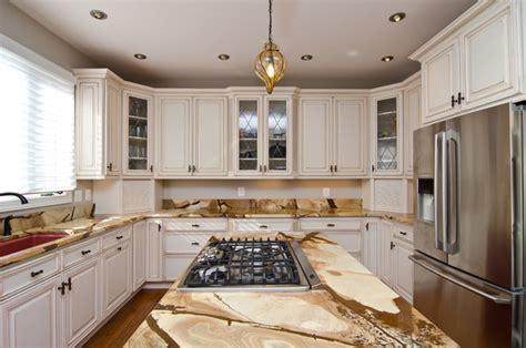 Wood Stone Granite Countertops   Traditional   Kitchen