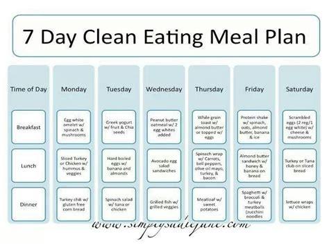 Gaiam Article 3 Day Clean Food Detox Plan by Diet Menu Eat Clean Diet Menu