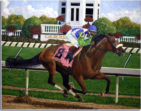 Nick Do The Kentucky Derby by Barbaro Painting By Nick Martinez