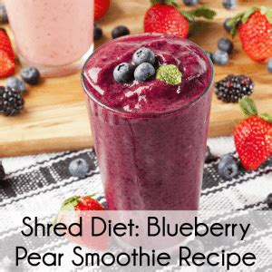 Shred Detox Diet by Dr Oz Dr Ian Smith Shred Diet Review Blueberry Pear