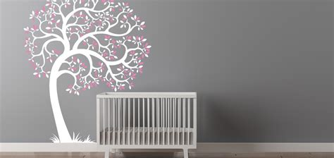 Baby Nursery Tree Wall Decal Tree Wall Decals For Nursery
