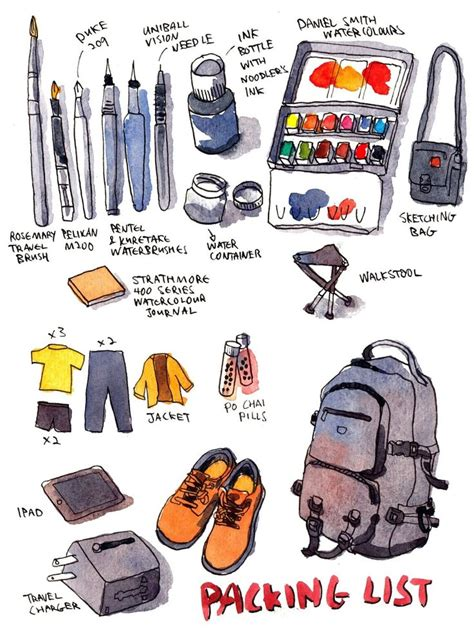tutorial sketchbook indonesia 128 best urban sketching kit images on pinterest