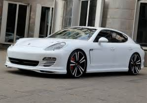 All White Porsche Panamera Porsche Panamera White Photo 1 12469
