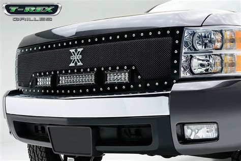 silverado led light chevrolet silverado 1500 torch series led light grille 2