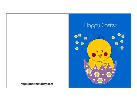 Printable Children S Easter Cards | easter cards