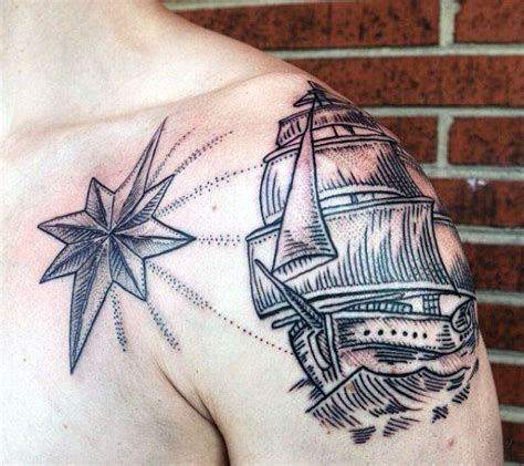 cool star tattoos for men 155 cool tattoos for