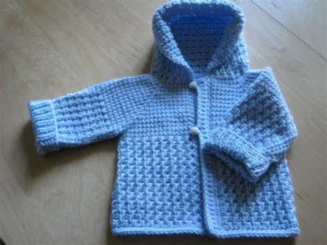 chompitas a dos agujas para bebes sweaters chompa con capucha tejido en dos agujas para