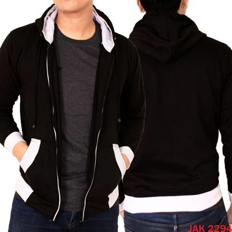 Jaket Fleece Hitam Putih jaket keren polos fleece fleece hitam putih jak 2294 gudang fashion
