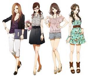 Fashion anime style 0 0 nicolle enriquez 0 0
