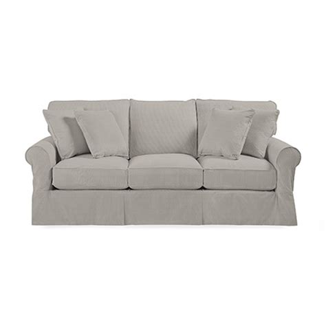 baldwin slipcover baldwin sofa curved front sofa transitional couch baldwin
