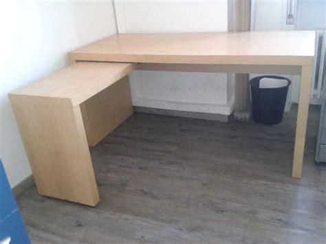 scrivania ikea scrivania ikea malm con banco estraibile a kijiji