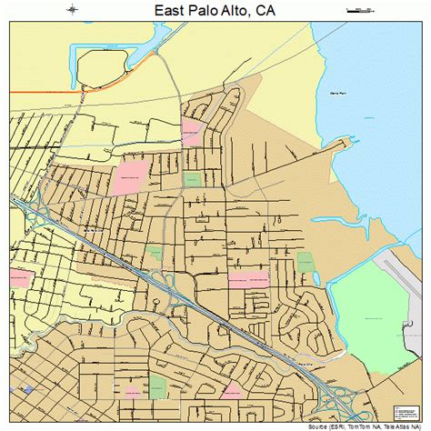 where is palo alto california on a map east palo alto california map 0620956