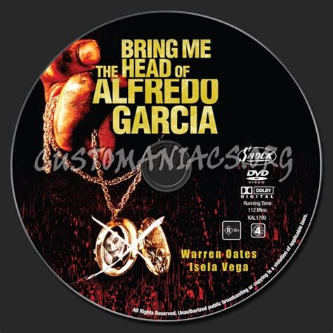 watch online bring me the head of alfredo garcia 1974 full hd movie trailer bring me the head of alfredo garcia dvd label dvd covers labels by customaniacs id 139420