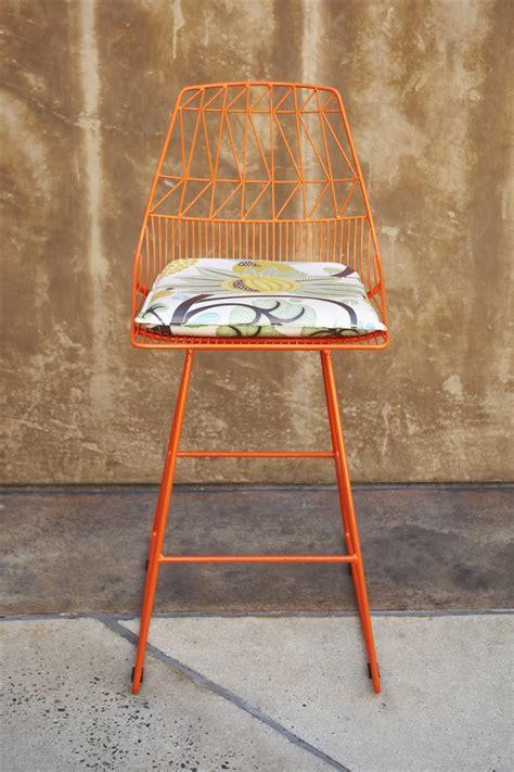 orange counter chairs orange counter stool 1