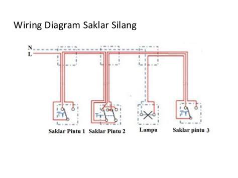 Saklar Silang 6 wiring diagram