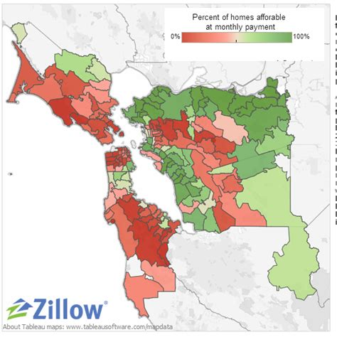 Affordable Mba Bay Area by Zillow 55 Of Bay Area Homes Not Affordable Prices