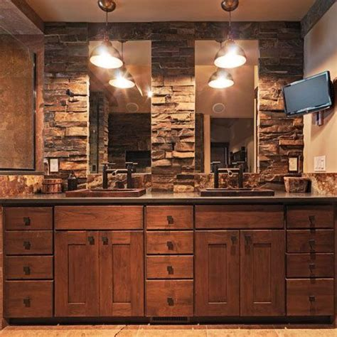 rustic sinks bathroom trails copper sinks rustic bathroom a interior