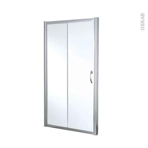porte de coulissante 120 porte de coulissante olympe 120 cm verre transparent oskab