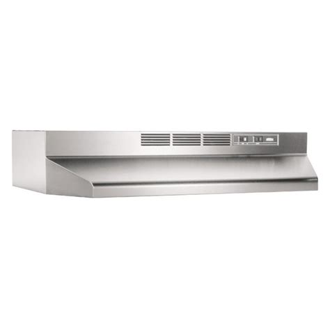 broan 30w in ventless cabinet range