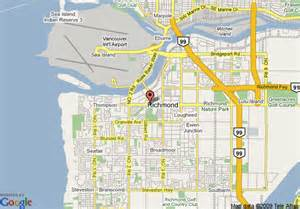 map of quality hotel richmond richmond