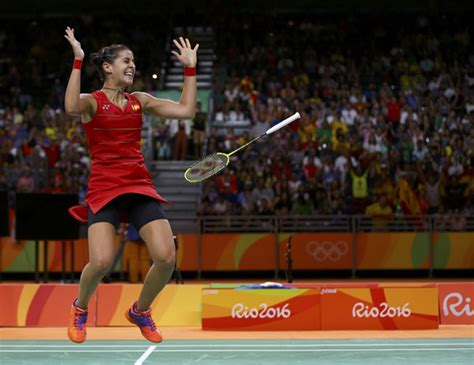 spain s marin defeats sindhu to win singles gold sports chinadaily cn