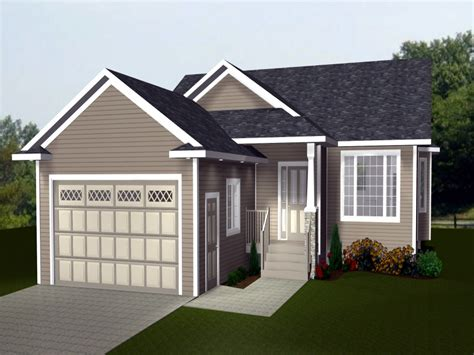 bungalow house plans with attached garage house style