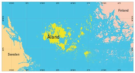 aland islands map understanding time zones time genie s encyclopedia