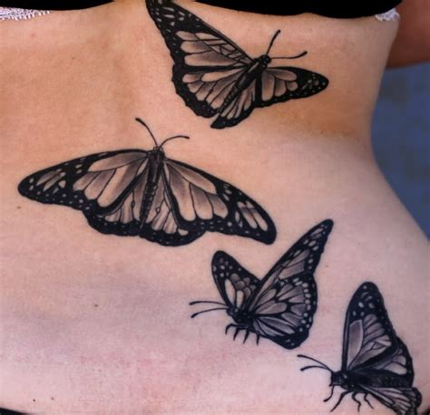 black and grey butterfly tattoo tatmaker summer blogbuster