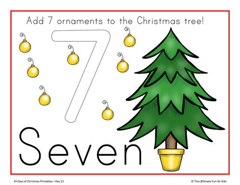 printable christmas playdough mats christmas countdown day 13 christmas tree counting play