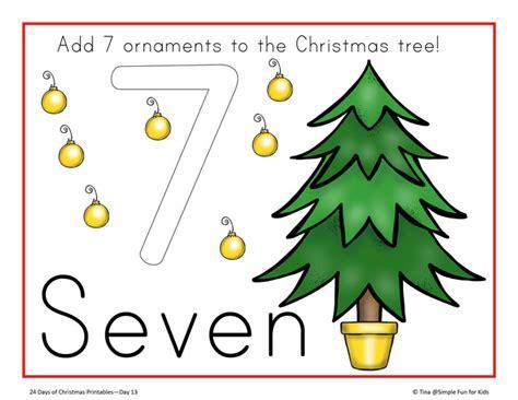printable playdough counting mats christmas countdown day 13 christmas tree counting play