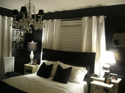 black bedroom decor decoration fantastic apartment black and white