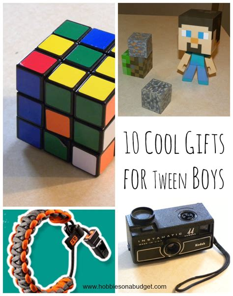 10 cool gifts for tween boys hobbies on a budget