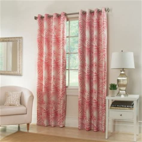 coral curtains drapes buy coral curtains from bed bath beyond