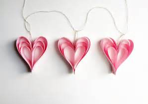 valentine s day pink heart decorations garland wedding