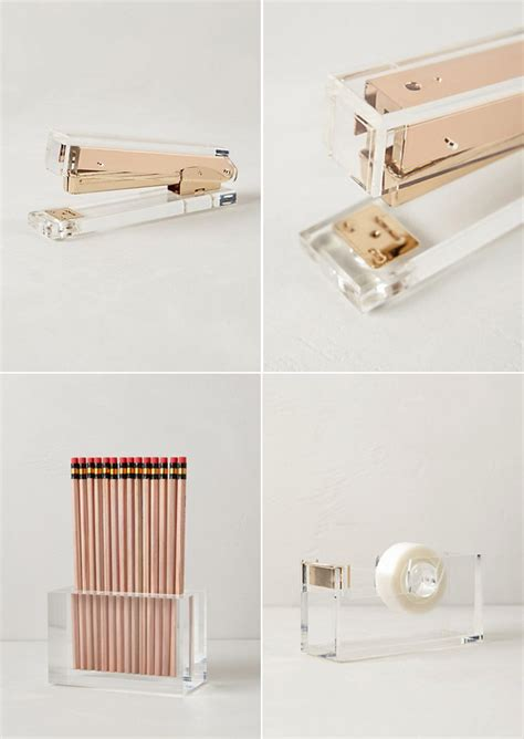rose gold desk accessories desk accessories mcgrath ii blog