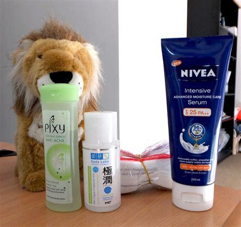Serum Pixy my office skin routine aibenq
