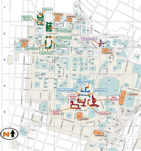university texas map residence and dining map university housing and dining the university of texas at