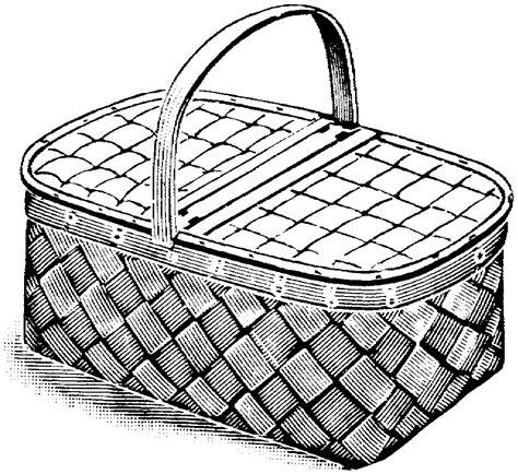 picnic basket coloring pages az sketch coloring page