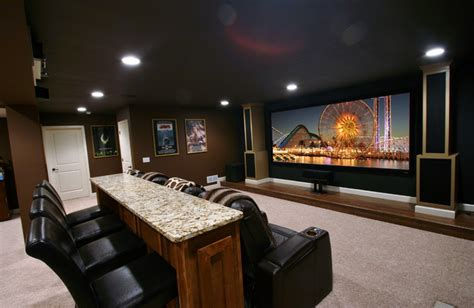 home theater design jobs open concept home theater