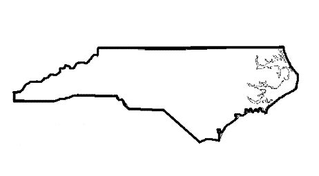 How To Draw The Outline Of Carolina by Carolina Clipart Outline Clipartfest