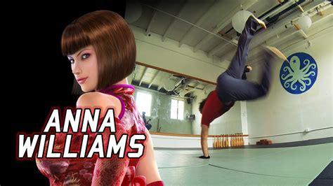 anna cg real life tekken assassinating with anna williams eric